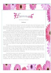 English Worksheet: The short story