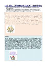 present continuous and feelings - 6 pages with texts, questions, vocabulary and grammar.