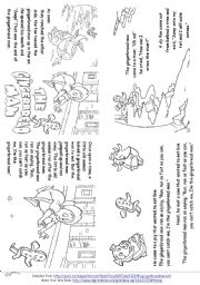 picture regarding The Gingerbread Man Story Printable identified as The Gingerbread Male worksheets