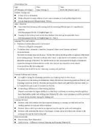 English Worksheets: Lesson plan on Skimming and Scanning plus writing activities