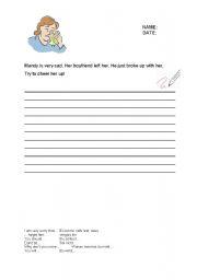 English Worksheets: Cheer up!