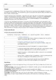 English worksheet: Cyberaddiction & questionnaires