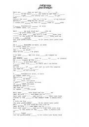 English worksheet: I´m yours- jason mraz