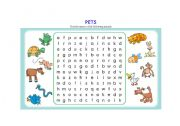 English Worksheet: PETS