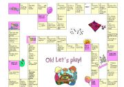 English Worksheets: quantifiers board game
