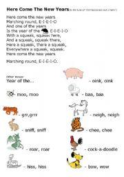 English worksheets: Chinese New Year