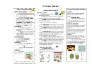 English Worksheet: simple machines and matter study guide with pictures