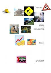 English Worksheets: construction
