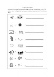English worksheet: Compound Words