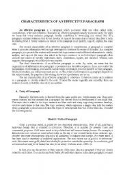 English Worksheets: Module Writing