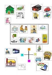 English Worksheets: Commuters