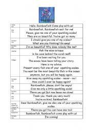 English teaching worksheets: The Rainbow Fish