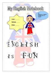 English Worksheets: Nice cover for your sts notebooks!HOPE YOU LIKE IT!