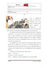 English Worksheets: studying abroad