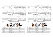 English Worksheet: Mad Libs Zoo Visit