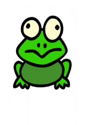 English Worksheets: The weather frog