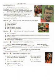 Test about David Beckham
