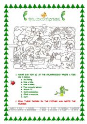 English Worksheet: THE COUNTRYSIDE