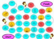 Frequency Adverbs Board Game