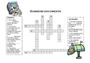 English Worksheets: Bussiness documents