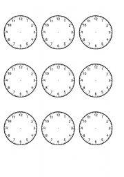 worksheet: Teaching TIME