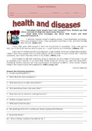 HEALTH AND DISEASES