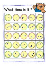 Time worksheet new 265 telling time bingo worksheet time bingo time card bingo bingo time worksheet part1 telling board time telling ibookread