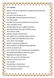 Printables Play Teacher Worksheets english teaching worksheets role plays a witch play