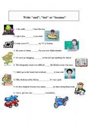 English Worksheets: write