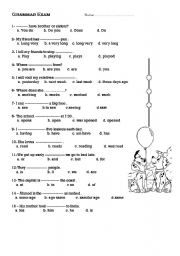 a test on grammatical competence 27 teaching and testing grammar diane larsen-freeman introduction perhaps no term in the language teaching field is as ambiguous as grammar it has been used to 5) and linguistic competence as mastery of these help develop capacity within students, not formal grammatical competence ( widdowson.