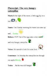 English Worksheet: Playscript:
