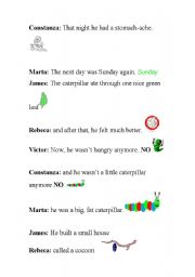 English Worksheets: Playscript