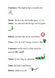 English Worksheet: Playscript