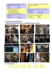 English Worksheet: FILM PROJECT � �FIREWALL� � part 2 (4 pages, key included)