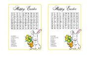 Easter-word hunt