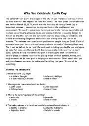 Earth Day Reading  prehension Worksheet   Freeology besides Why We Celete Earth Day   ESL worksheet by marjoriesv as well Earth Day Reading  prehension Worksheets Grade Quiz First additionally  likewise earth day reading page – debebes club likewise Free Printable Earth Day Worksheets Free Printable Earth Day Reading in addition Easy Reading  prehension  Earth Day  primary    abcteach further Earth Day Reading  prehension Page – essment and Foldable besides  moreover Earth Day Worksheet Reading  prehension Worksheets Pdf For also  likewise 67 FREE Earth Day   Earth Hour Worksheets additionally Earth Day Pre Reading  prehension Worksheets Grade Printable as well reading  prehension worksheets middle students also Earth Day Activities For 2nd Grade Earth Day Themed Practice For The furthermore template  Earth Day Template Reading  prehension Worksheets Award. on earth day reading comprehension worksheets