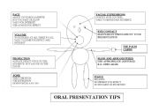 English Worksheets: Oral presentation tips