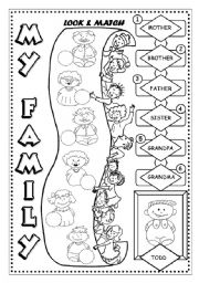math worksheet : english teaching worksheets family : Family Worksheets Kindergarten