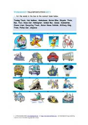 Transportation Set 1