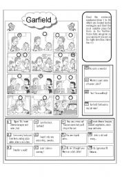 English Worksheet: Adventure on Saturday night
