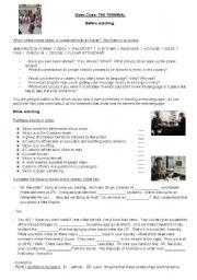 English Worksheet: Film: THE TERMINAL