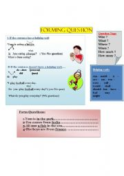 English Worksheets: Forming Questions
