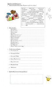 English Worksheets: Emily�s life