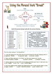 English Worksheets: Phrasal Verb