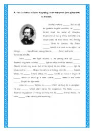Charles Dickens _ Past Simple
