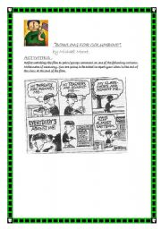 English Worksheet: BOWLING FOR COLUMBINE, by Michael Moore