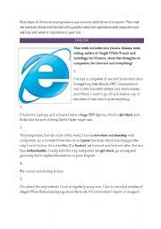 English Worksheets: Online