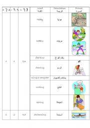 English Worksheets: Dictioary