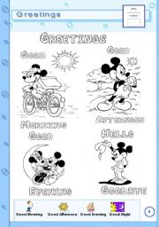 English Worksheets: Greetings - page 4