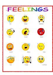 Irresistible image inside printable emotion faces